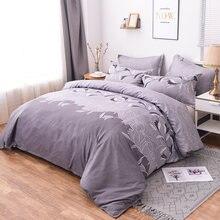 Постельное белье jivetulu classic однотонный комплект постельных