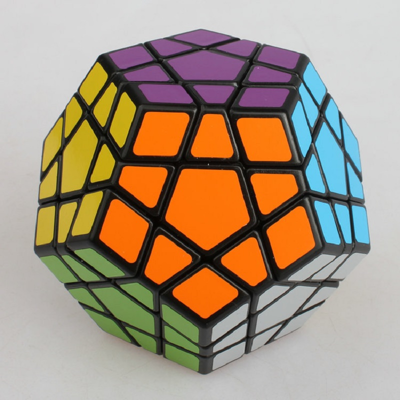 LeadingStar 3rd Order Megaminx Magic Cube Stickerless Dodecahedron Speed Cubes Brain Teaser Twist Puzzle Toy  Infinity Cube