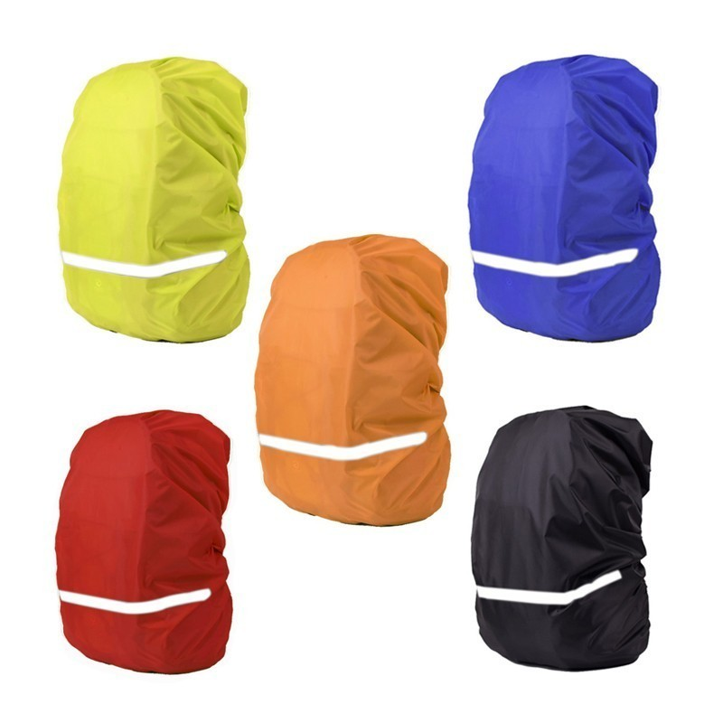 Cycling Backpack Rain Cover Reflective Bag 20L Waterproof Cover Tactical Camping Hiking Climbing Sport Bags Dust Rain Cover