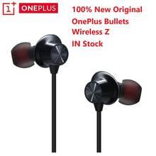 110Ms Quick Paar Originele Oneplus Kogels Draadloze Z Bluetooth Oortelefoon Aptx Hybrid Magnetische Controle Voor Oneplus 8 Pro 7T 7 Pro