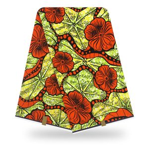 African super wax print Fabric High Quality Cotton Material Ankara Fabric Sewing Veritable Dutch Real Wax 6yard for clothes