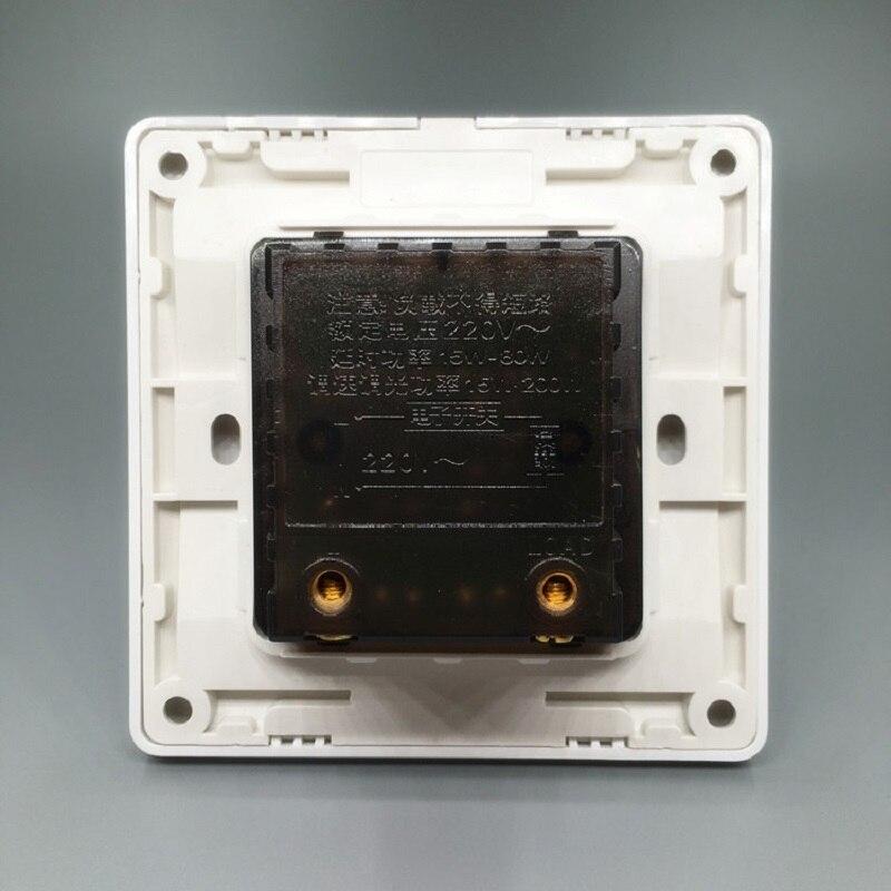 para painel embutido de parede brilho regulavel controle por led 02