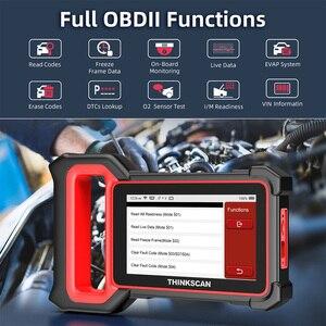 Image 4 - THINKCAR Thinkscan Plus S7 OBD2 Scanner Airbag BCM ECM TCM IC AC ABS System Oil DPF BAT ABS Reset Car Diagnostic OBD 2 Scanner