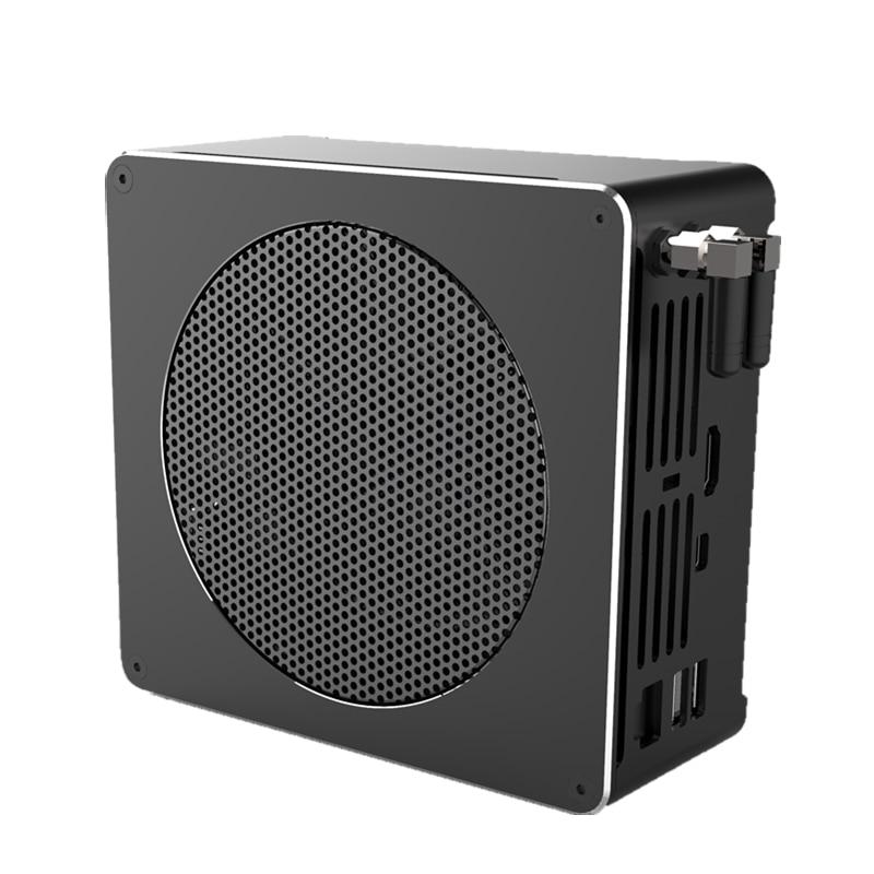 8th Gen Intel Mini PC Computer Core i7 8850H 8750H 6 Core 12 Threads 32GB DDR4 2*M.2 SSD i5 8300H UHD Graphics 630 HDMI DP WiFi-1