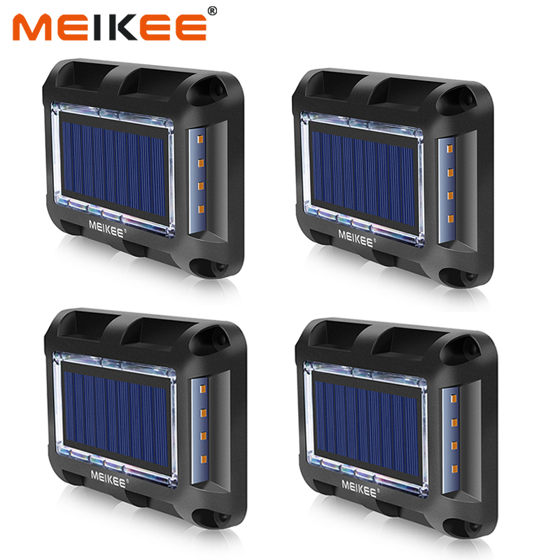 1pc/4pcs Solar Lights IP67 Waterproof LED Solar Lamps Outdoor Solar Garden Lawn Light For Yard Deck Lawn Patio
