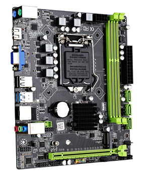 JINGSHA H310C Motherboard LGA 1151 processor 3 * SATA3.0  support M.2 Interface and both NGFF NVME protocol Up to 32GB