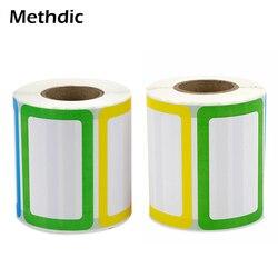 500 Sticker Methdic Adesivo Colorato Nome Tag 40 Rotoli
