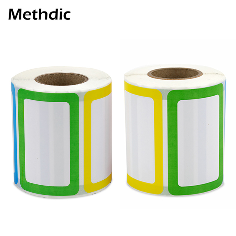 500 Sticker Methdic Colorful Sticker Name Tags Child Stationery Sticker