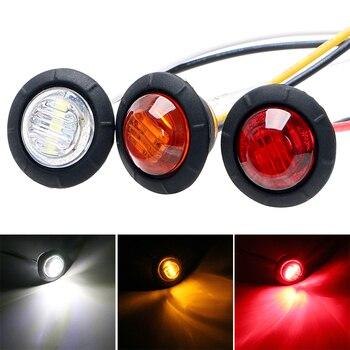 цена на LEEPEE 2Pcs/set Auto Car LED Side Marker Lights  Signal Lamp Super Bright Car Tail Lights Car-styling