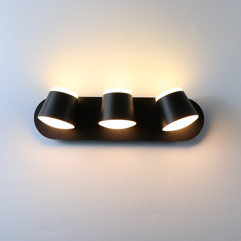 Indoor Wall Light 360 Degrees Adjustable LED Wall Lamp Aisle Wall Sconce Living Room Hotel Room Bedroom Lights 8W 16W 24W