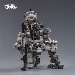 Image 3 - (2pcs/lot)JOYTOY 1/25 action figure robot Military Steel Bone Armor Gray Mecha Collection model toys Christmas present gift