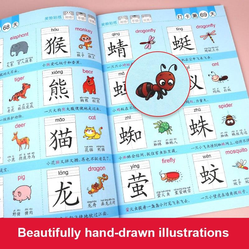 Книги с буквами 3 шт./компл. 1200, новые книги с буквами для раннего развития для дошкольного обучения детей, карточки с изображением китайских ...