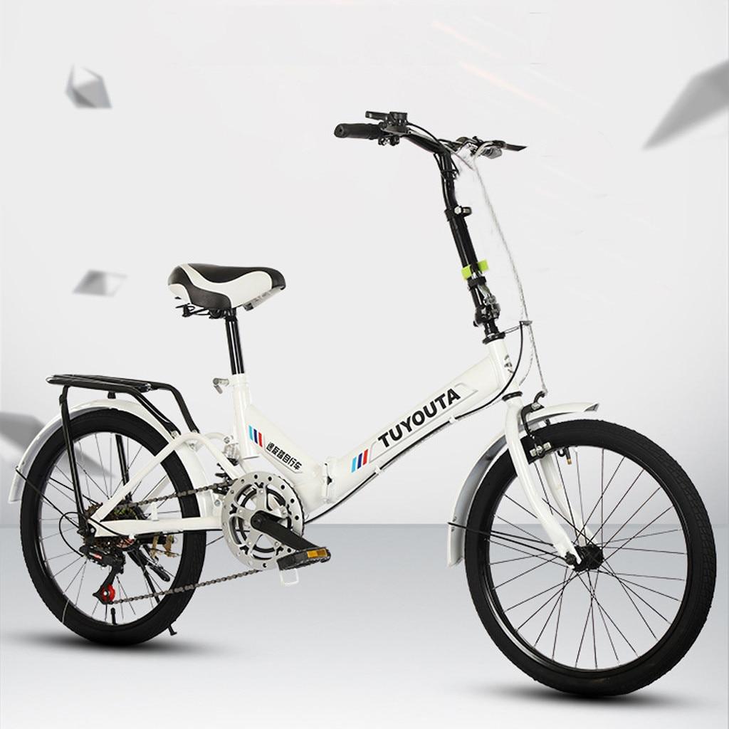 Pequena da Bicicleta de Pouco Polegadas para Estudantes Dobrável de 20 Bicicleta Portátil Peso Adultos t4