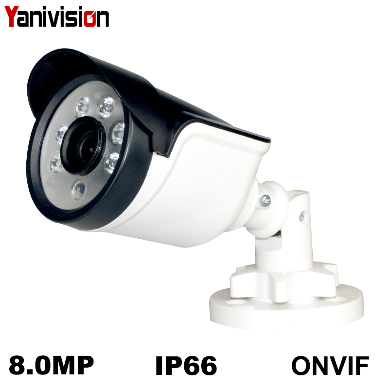 8MP HD 5MP IMX335 POE IP Camera Outdoor Waterproof Night Vision Onvif FTP Email CCTV Video Surveillance Security Camera