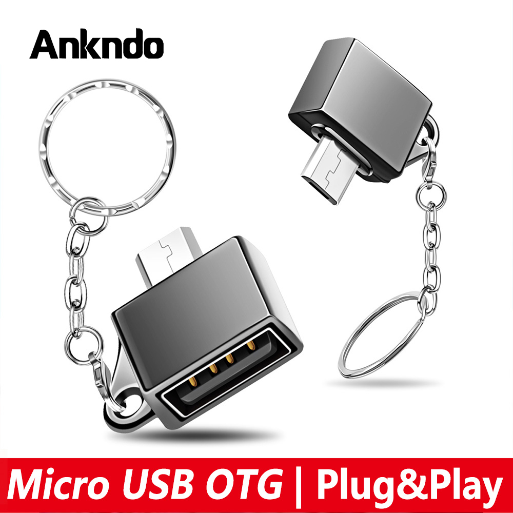 Micro USB OTG Adapter Android Micro Converter For Mobile Phone Tablet Micro Cable OTG Plug Charge Data Disk Connector
