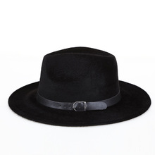 2020 Spring Hat Men's Middle-aged Imitation Mane Warm Thick Gentleman Jazz Men Campaniform Harajuku Casual Solid