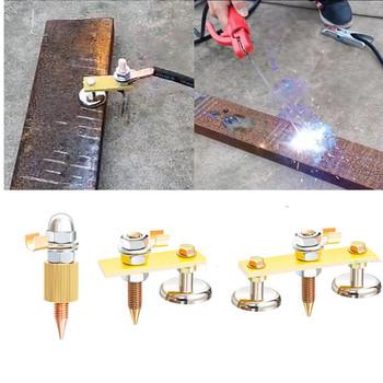 Regulowane zaciski spawalnicze 25kg-50kg mocny magnetyczny uchwyt mocujący silny spawacz narzędzia ręczne spawanie elektryczne akcesoria do maszyn tanie i dobre opinie Obróbka metali Xia-C-100-1 Magnetic Welding Clamps Weld Holders Accessories