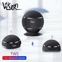 TWS Bluetooth רמקול אלחוטי 2 ב 1 מגנטי רמקול Handfree שיחת מיקרופון אלחוטי רמקולים בס חזק Altavoz באיכות גבוהה