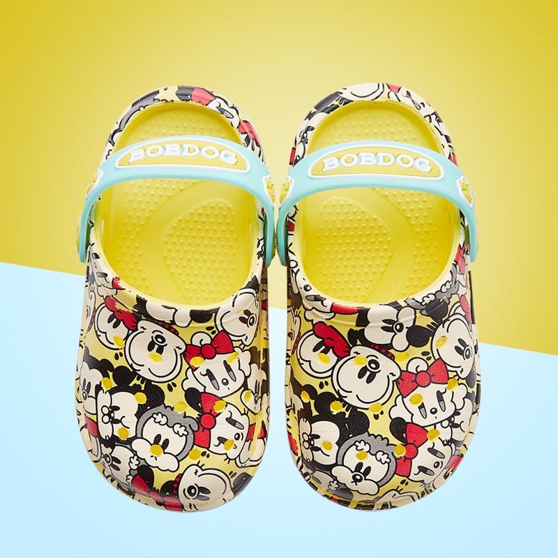 Kocotree Summer Girls Boys Baby Indoor Slippers Cartoon Dog Comfortable  Children Fashion Sandals Baby Anti-slip Beach Slippers