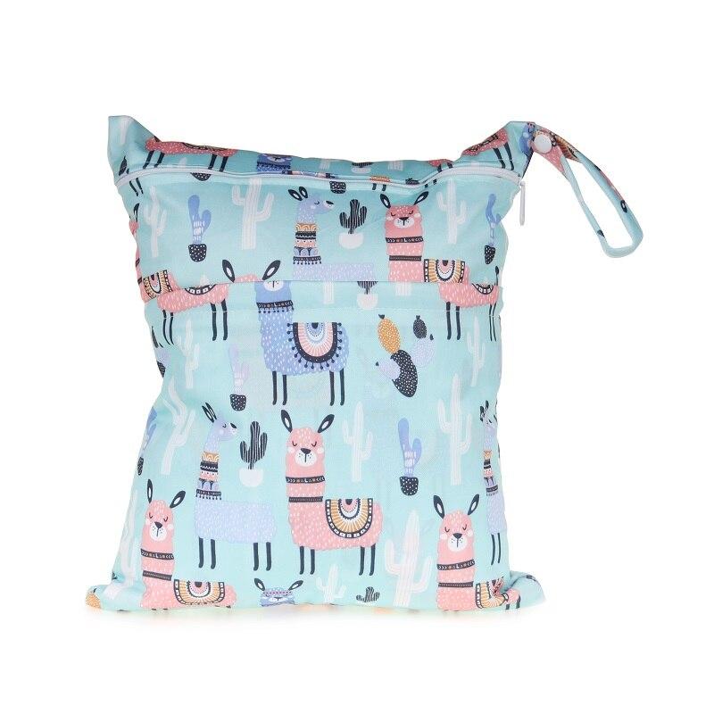 [CHOOEC] 2019 New Wet Bag Washable Reusable Cloth Diaper Nappies Bags Waterproof Swim Sport Travel Carry Bag Big Size: 30X36 Cm