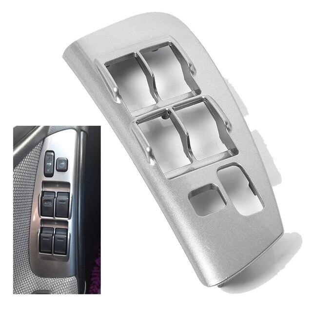 Car Inner Door Panel Window Switch Bezel Left for Toyota Matrix Pontiac Vibe 2003 2004 2005 2006 2007 2008 74232-01030 88970397