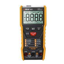 цена на Auto Range LCD Digital Multimeter True RMS 6000 Counts AC DC Ammeter Voltmeter Ohm Capacitance NCV Diode Meter with Test Leads