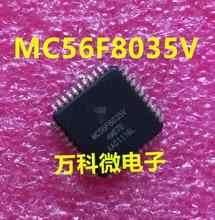 (5 PCS) (10 PCS) Original Novo MC56F8035V 4M67E MC56F8035VLD QFP