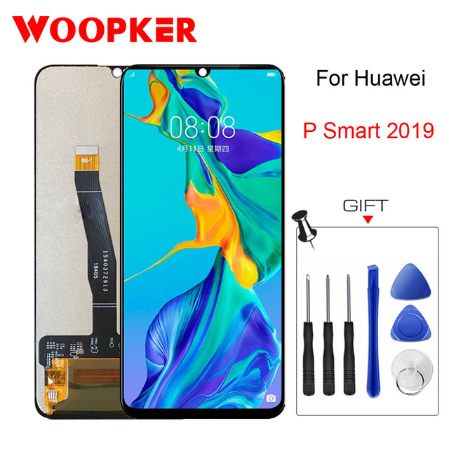 Huawei P Smart 2019 디스플레이 터치 스크린 디지타이저 어셈블리 용 원본 화웨이 P Smart 2019 Lcd 용 6.21 인치 교체