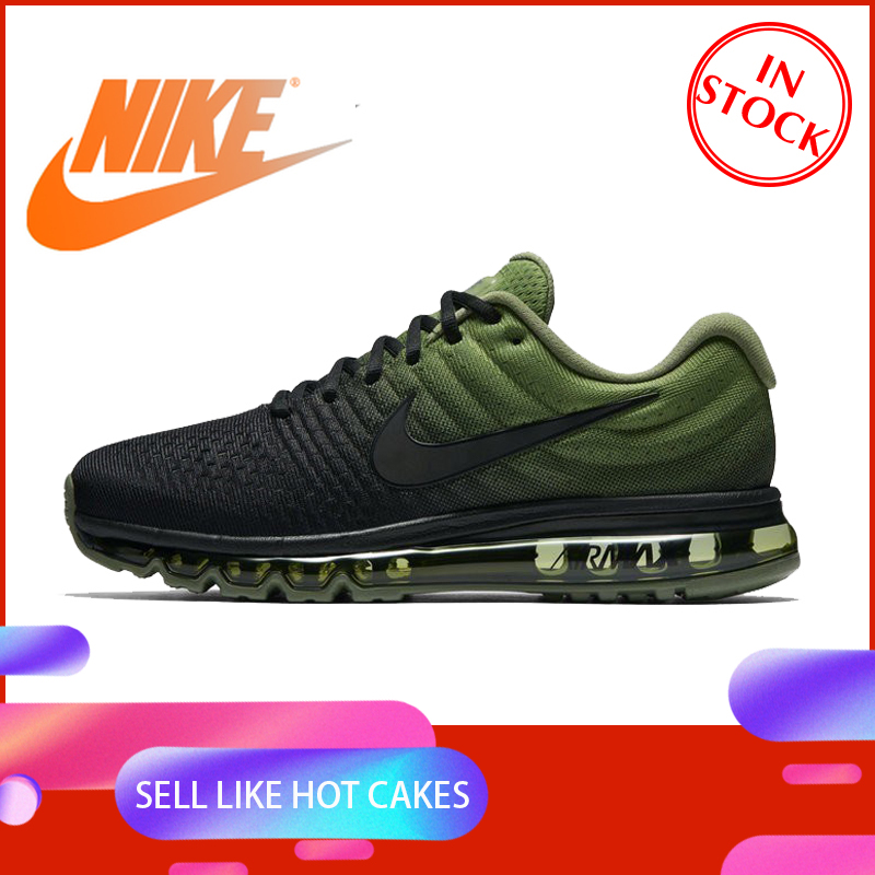 Original Authentic Nike Air Max 2017 Men's Running Shoes Fashion Outdoor Sports Shoes Durable Wear Designer New 849559