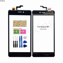 Touch Screen Panel For BYLYND M7 Touch Screen Digitizer Sensor Front Glass Sensor M7 Panel Replacement Part