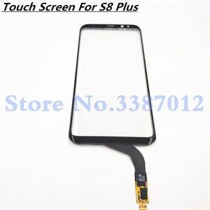 Image 1 - Оригинальный 6,2 дюйма сенсорный экран для Samsung Galaxy S8 plus G955 G955F сенсорный экран дигитайзер сенсор запасные части