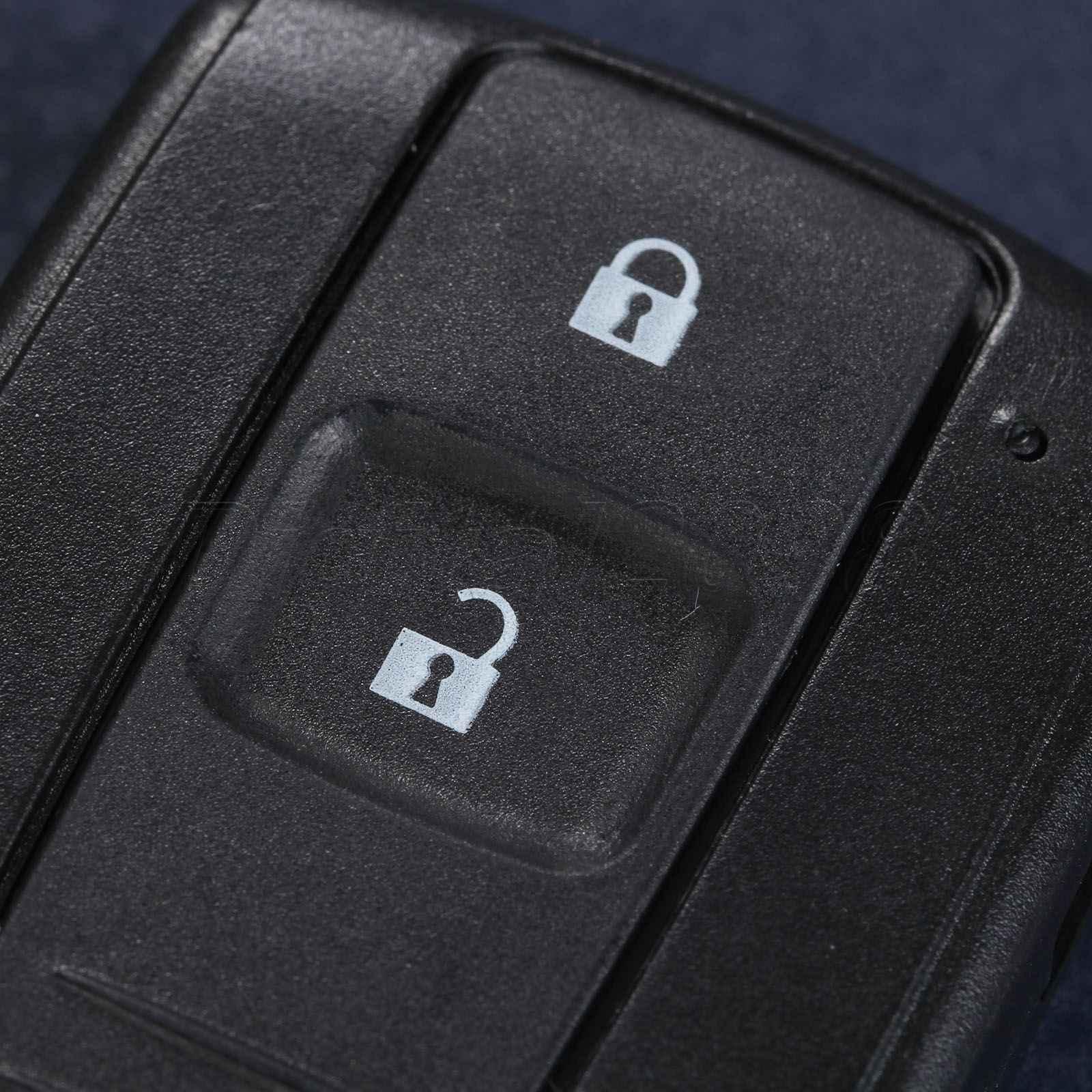 Yetaha 2017 de alta qualidade 2 botão chave substituição do escudo inteligente remoto chave caso fob keyless entrada para toyota prius corolla verso
