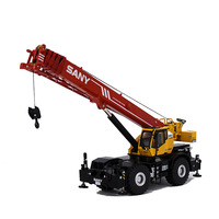 1:50 scale diecast off road crane crane alloy engineering car model metal hoist derrick toy collection Construction Vehicle gift