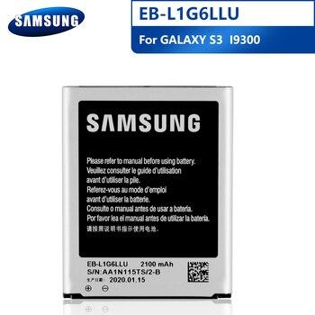 Samsung Original EB-L1G6LLU Battery For Samsung I9300 GALAXY S3 I9308 L710 I535 NFC EB-L1G6LLA Replacement Phone Battery 2100mAh samsung orginal eb l1g6lla eb l1g6llu llk llz 2100mah battery for samsung galaxy s3 i9300 i9305 i747 i9060 i9128 i9308 i535 i930