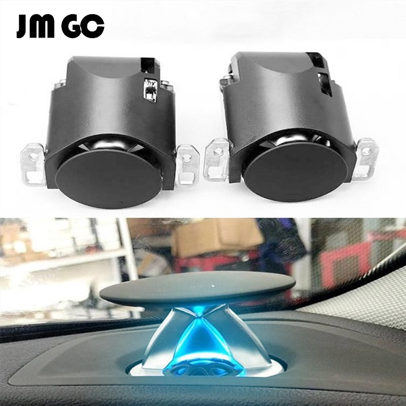 Illuminated Tweeter Suitable For Audi A4 A5 A6L A7 A8 Q5 Q7 Automatic Lift Tweeter Synchronize The Original Car Ambient Light
