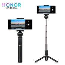 Ehre Stativ Selfie Stick Pro Tragbare Drahtlose BT 3,0 Einbeinstativ mit Vier-Schlüssel Mini Controller für iOS Android Smartphones schwarz