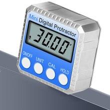 Winkel Finder Elektronische Mit Magnet Messung Werkzeug 360 Grad Herrscher Mini Digital Winkelmesser Universal LCD Bildschirm Neigungsmesser