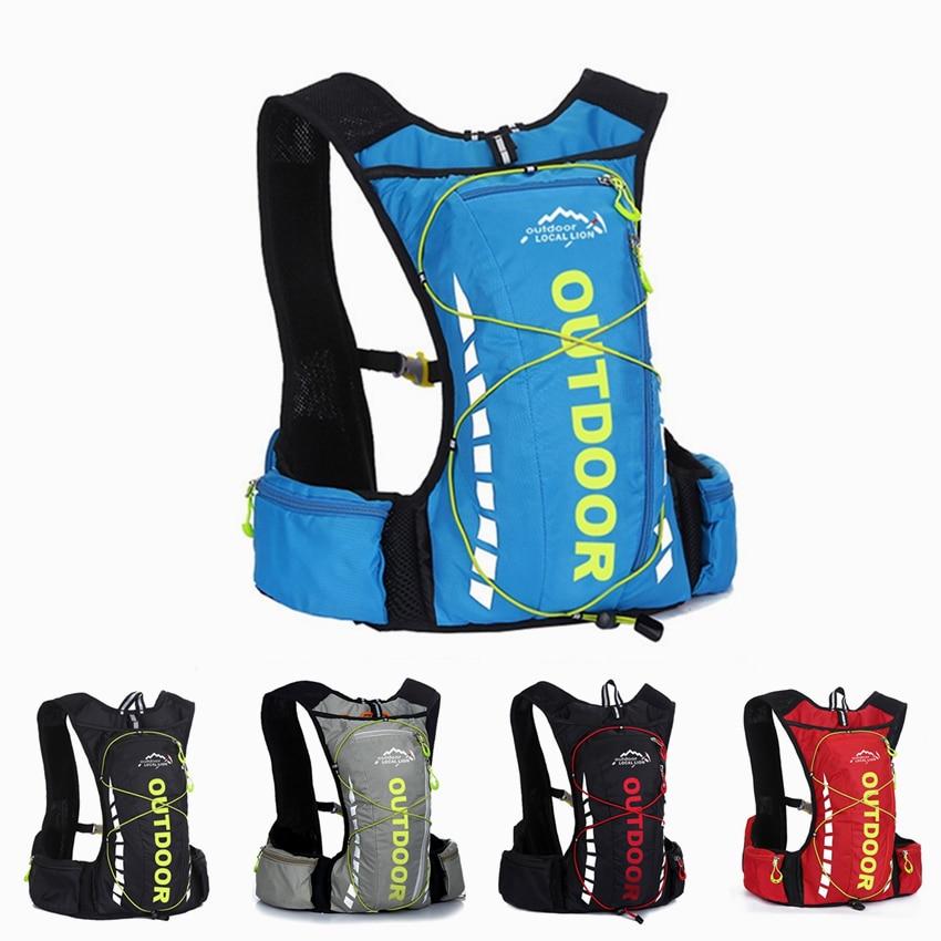 Men's Women MTB Bike Bags Waterproof Bicycle Rucksacks Backpack Sport Polyster Cycling Hiking Camping Hydration Cycling Backpack