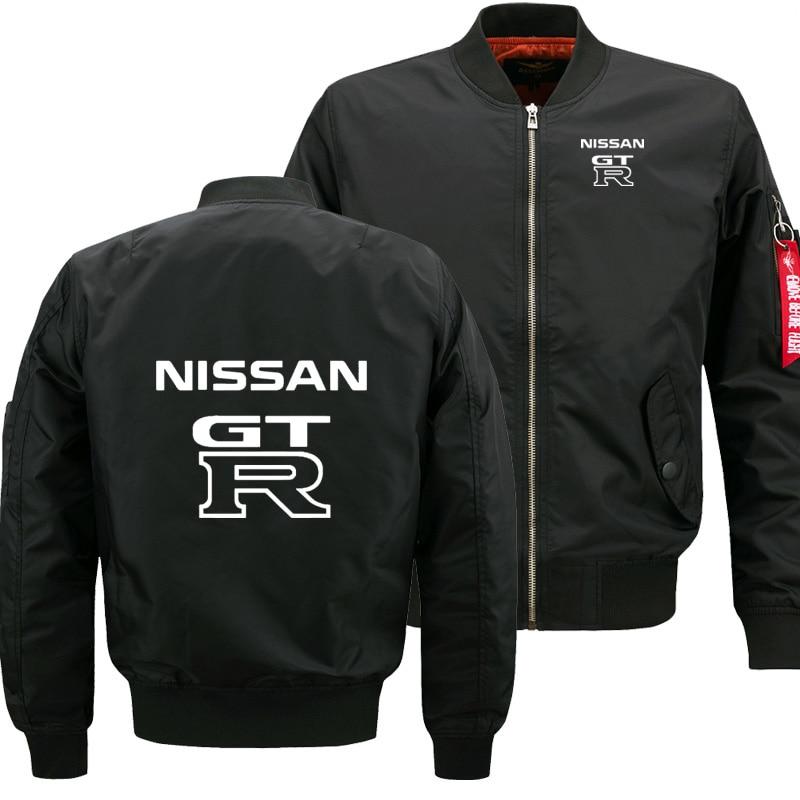 Man Long Sleeve Flying Trend Fashion Men Jacket GTR Car Logo Print Sweatshirt High Quality Men Jacket Male Clothing Coat Selling