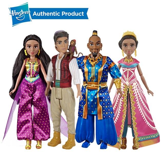 Hasbro Disney Aladdin Glamorous Gelsomino Deluxe Fashion Doll Jasmine Bambola Aladdin Regalo di Film Per I Bambini 3 Anni di Età