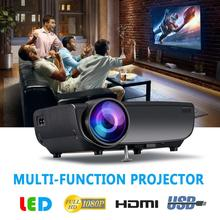 3D Fashion WiFi Wireless Projector HD 1080P LED Screen Support TV HDMI AV USB VG