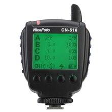Nicefoto CN 516 Draadloze 2.4G Trigger Zender Afstandsbediening Voor LED 2000All/1500All НA 3300B/2300B Led Studio Outdoor Flitslicht