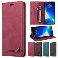 Custodia Flip per Samsung Galaxy J3 J5 J7 2017 J6 J8 2018 nota 8 9 10 20 portafoglio magnetico in pelle Ultra retrò supporto per telefono Coque