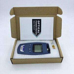Image 2 - FTTH מיני כוח אופטי מטר סוג OPM סיבים אופטי כבל Tester 70dBm ~ + 10dBm SC/FC אוניברסלי ממשק מחבר