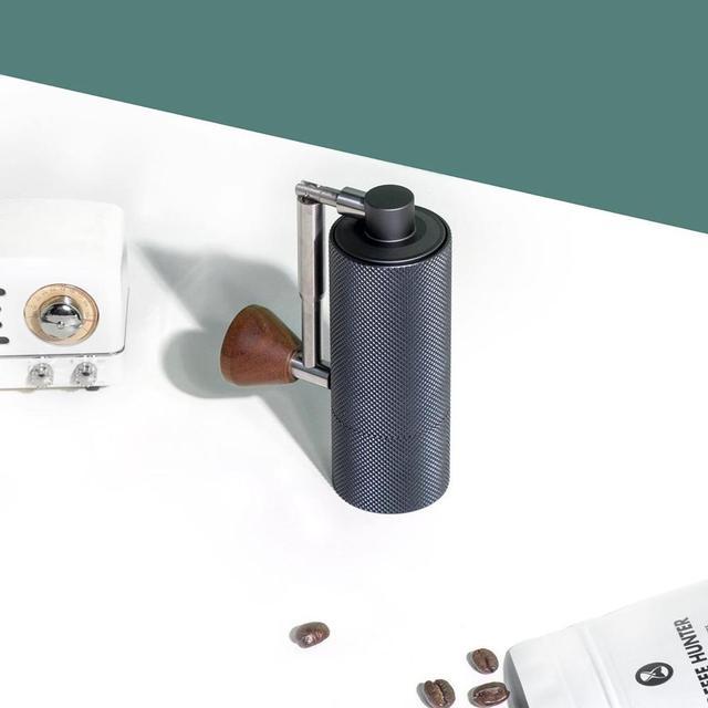 TIMEMORE 나노 플러스 수동 커피 그라인더 휴대용 조정 가능한 설정 원추형 버 작은 손 크랭크 밀 에스프레소 스케일 위에 부어
