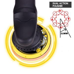 700 Вт машина для полировки автомобилей DA 6 дюймов 21 мм орбита двойного действия Авто Полировщик переменной скорости шлифовальный станок пол...