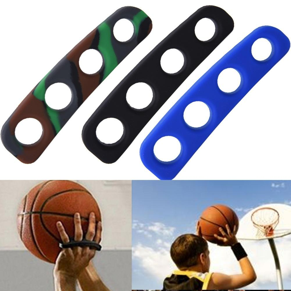 1Pc 4 Holes Silicone Basketball Shots Shooting Trainer Palm Training Aid Orthotics Three Size S/M/L For Kids Adult Man Teens