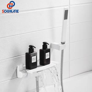SOGNARE Bathroom Set White Bat