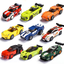 City Legoes Run, Race Car Truck Building Blocks Bricks Kids Toys Marvel Friends Christmas Gift