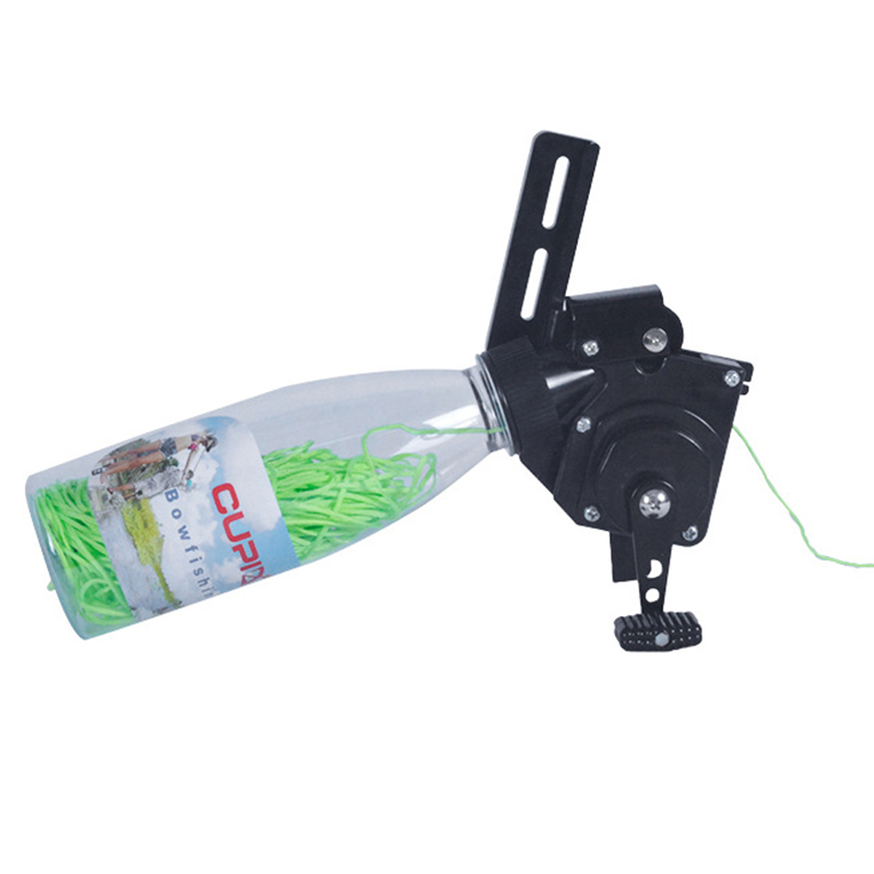 Bow Fishing Reel for Compound Bow / Recurve Bow Bowfishing Reel Kit 40M Bow & Arrow     - title=
